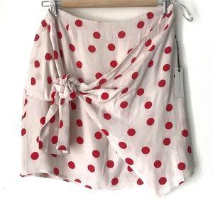 Lovers + Friends Polka dot Skirt